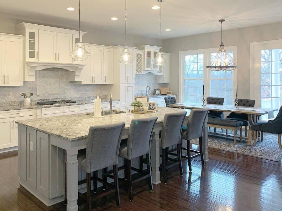 White Kitchen Modern Farmhouse Kitchen Sapphireandmain
