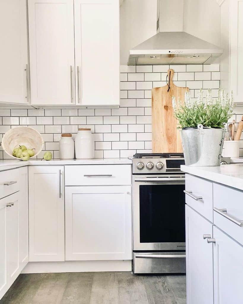 White Kitchen Modern Farmhouse Kitchen Sunlitmountainhome