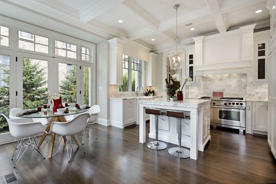 White Kitchen Open Kitchen Ideas