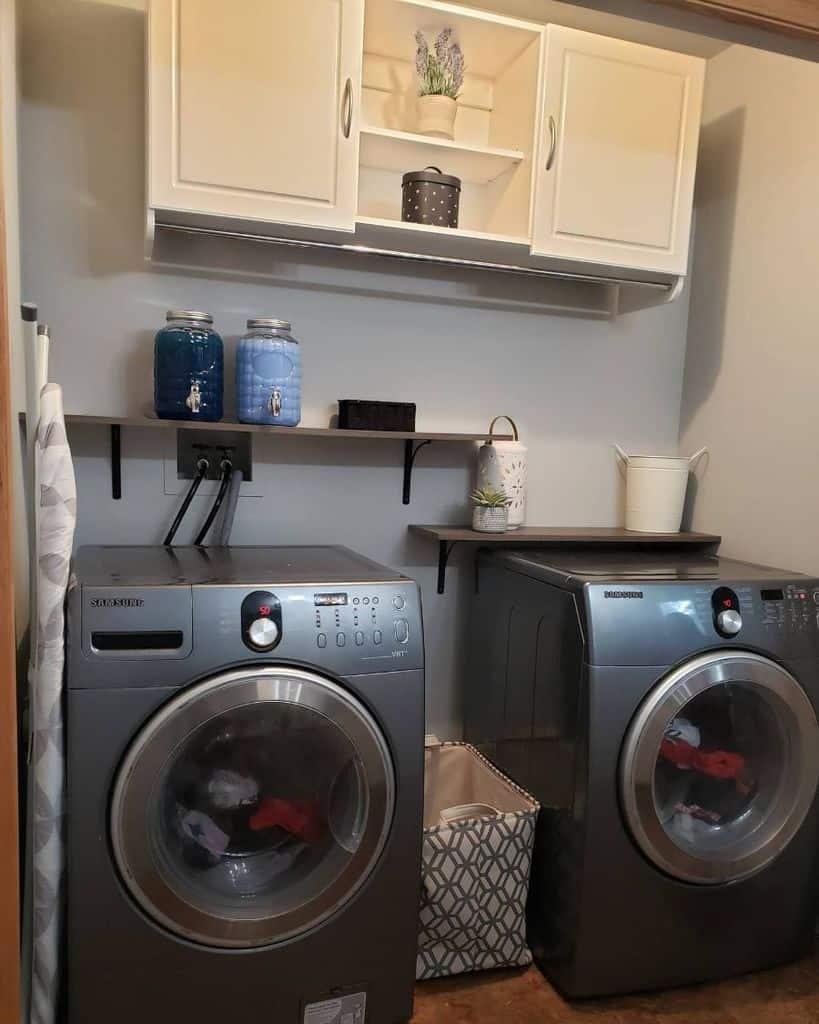 white laundry room cabinet ideas lyrabugyi