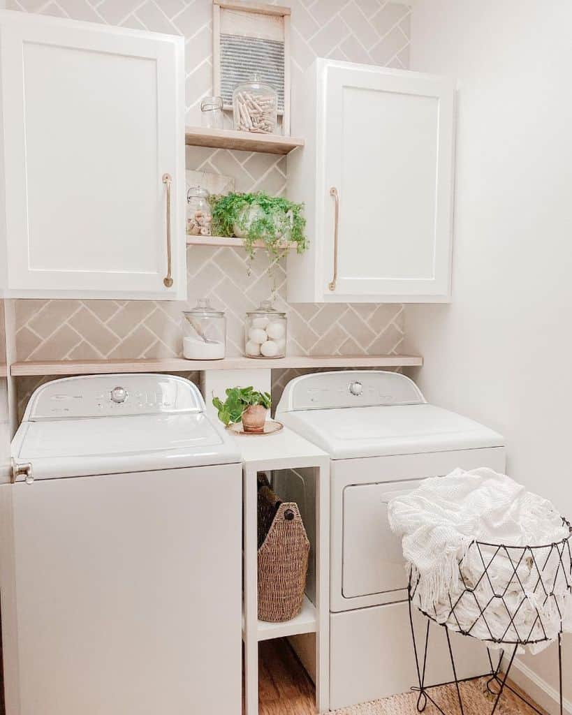 white laundry room cabinet ideas thehappyev.after
