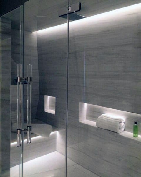 White Leds Ideas For Shower Lighting
