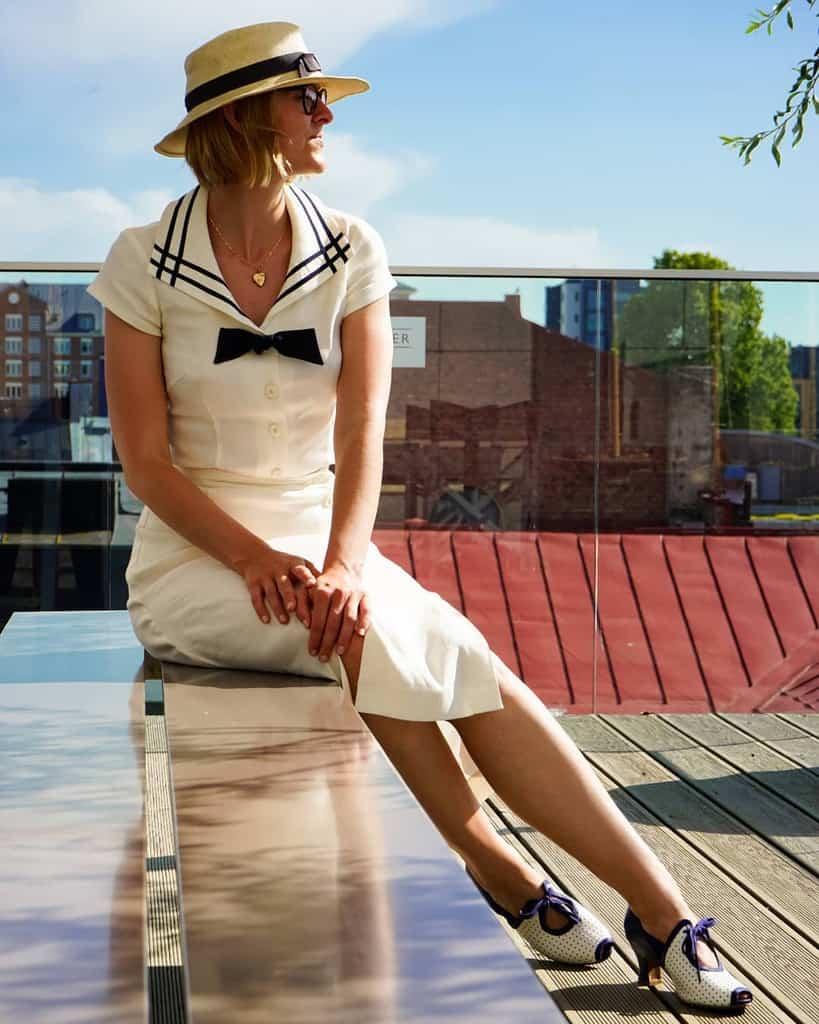 White Linen Nautical Style