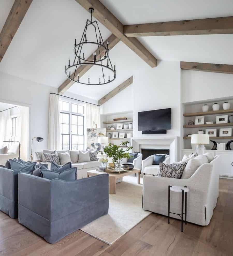 White Living Room Color Ideas 2 Kristen.mayfield