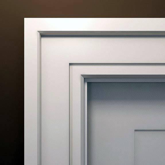 White Mdf Door Trim Home Designs