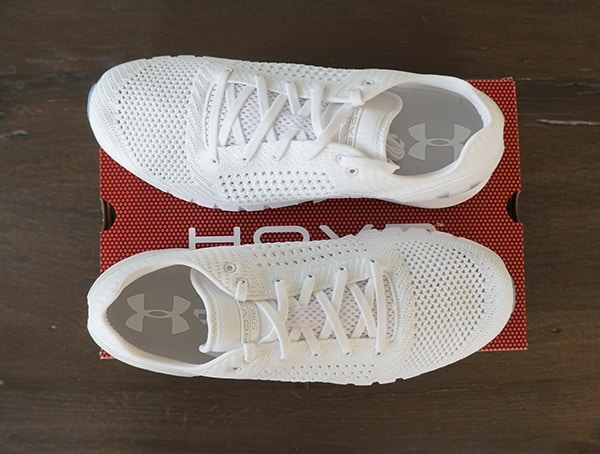 White Mens Running Shoes Under Armour Hovr Sonic