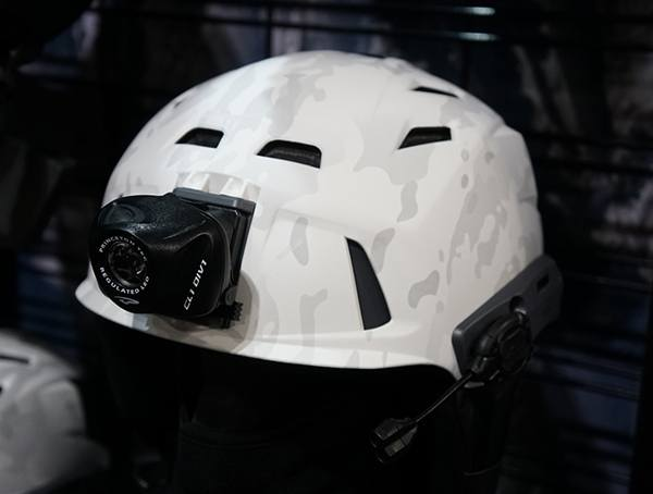 White Multicam Camo Ski Helmets Team Wendy