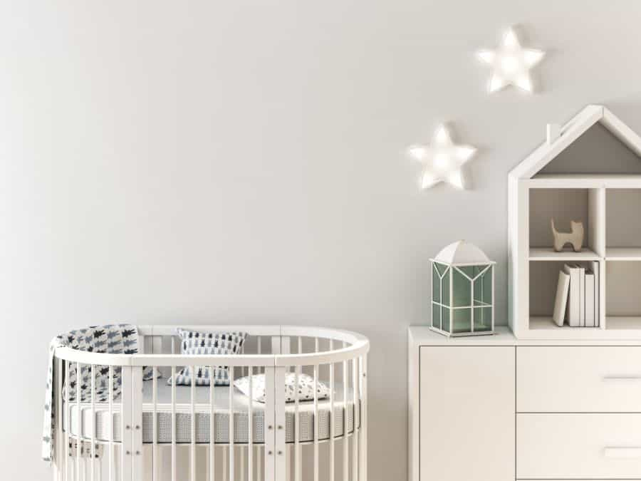 White Neutral Baby Room Ideas 2