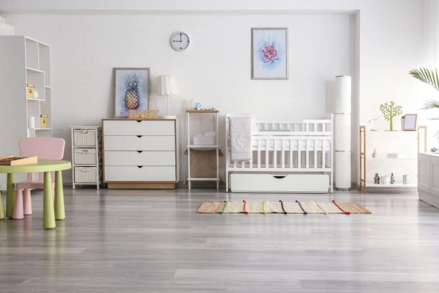 White Neutral Baby Room Ideas 4