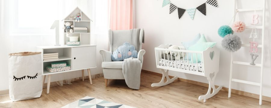 White Neutral Baby Room Ideas 5