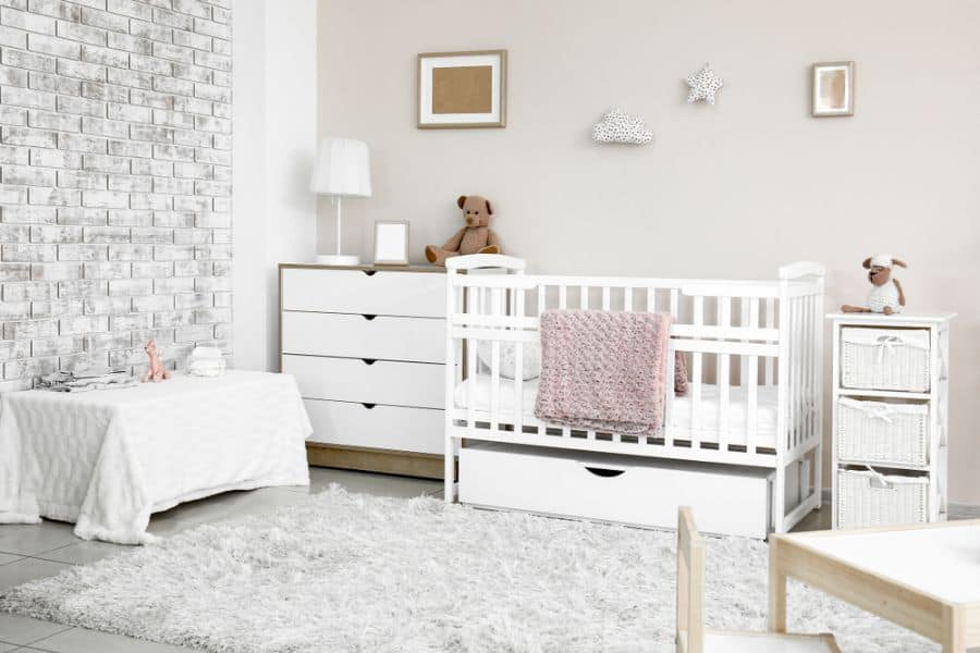 White Neutral Baby Room Ideas 6