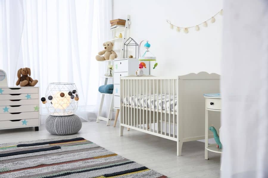 White Neutral Baby Room Ideas 7