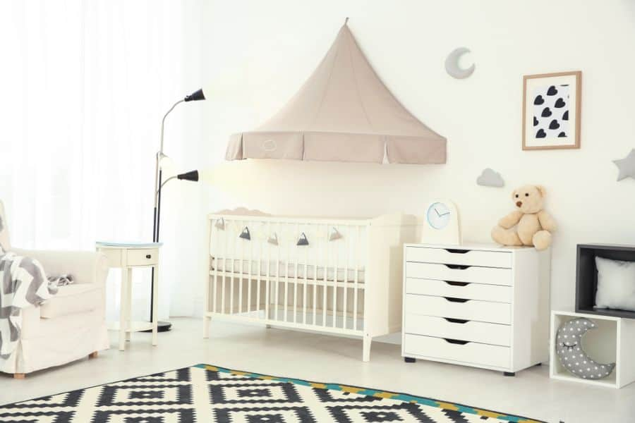 White Neutral Baby Room Ideas 8