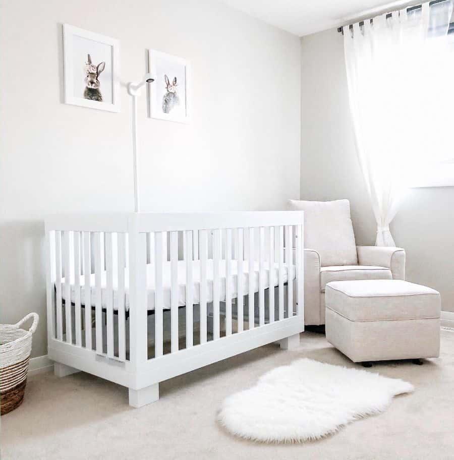 White Nursery Ideas Marielynnehogan