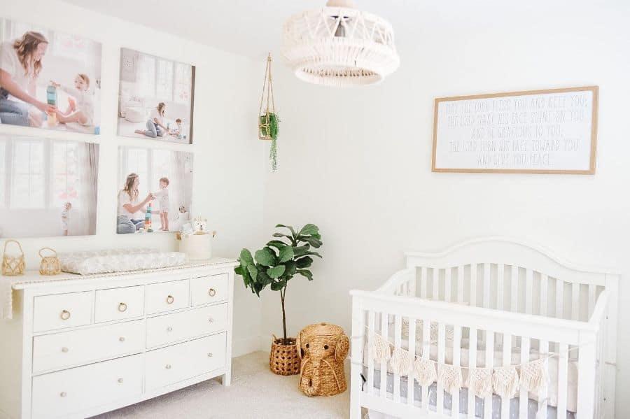 White Nursery Ideas Montgofarmhouse