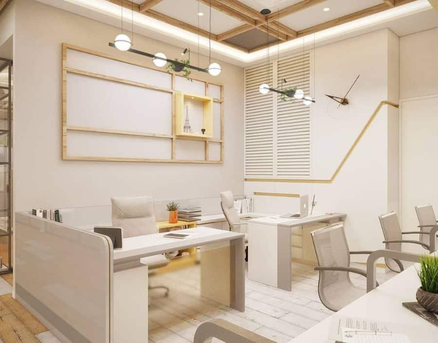 White Office Decor Balrajthethidesign