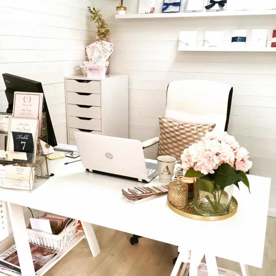 White Office Decor Coutureweddingcards