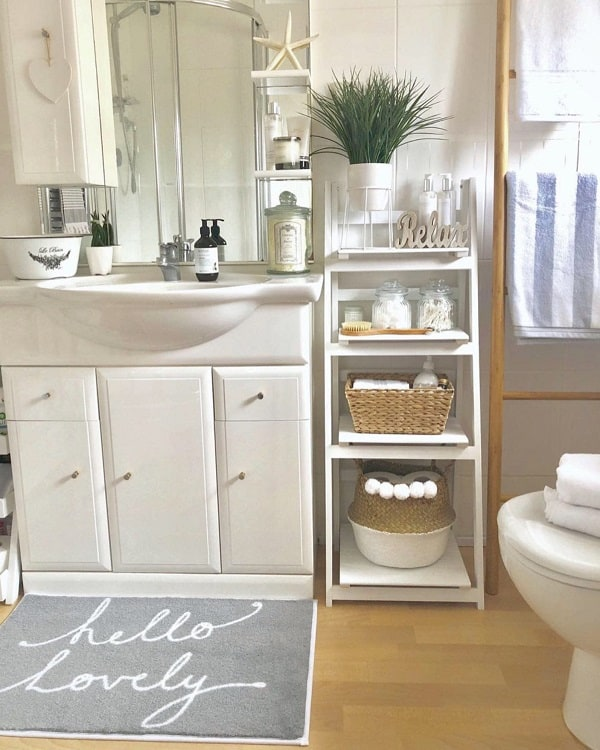 bathroom rack bathroom storage ideas
