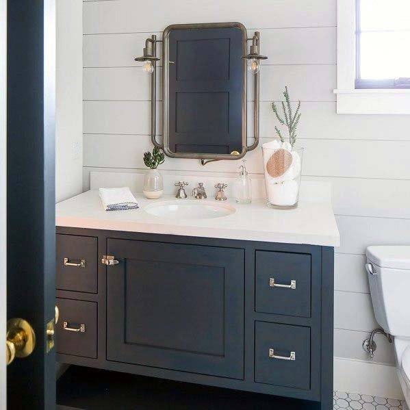Top 50 Best Shiplap Bathroom Ideas