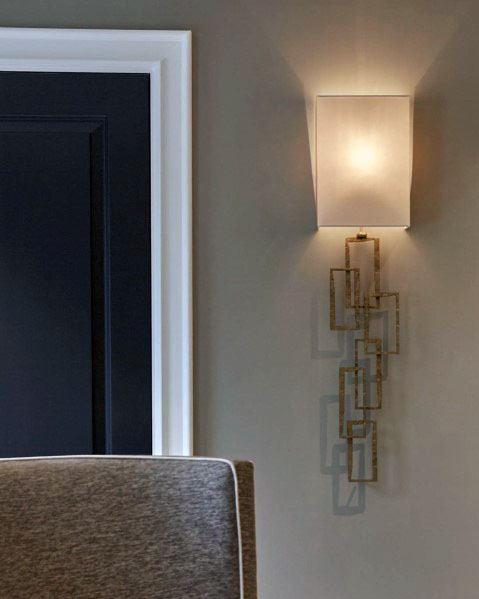 White Painted Door Trim Design Ideas