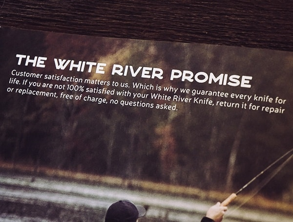 White River Knife And Tool Promise