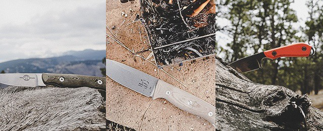 White River Knife And Tool Ursus 45, M1 Backpacker Pro, and Small Game Knife Review