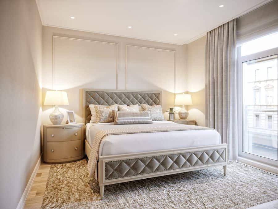 white romantic bedroom ideas
