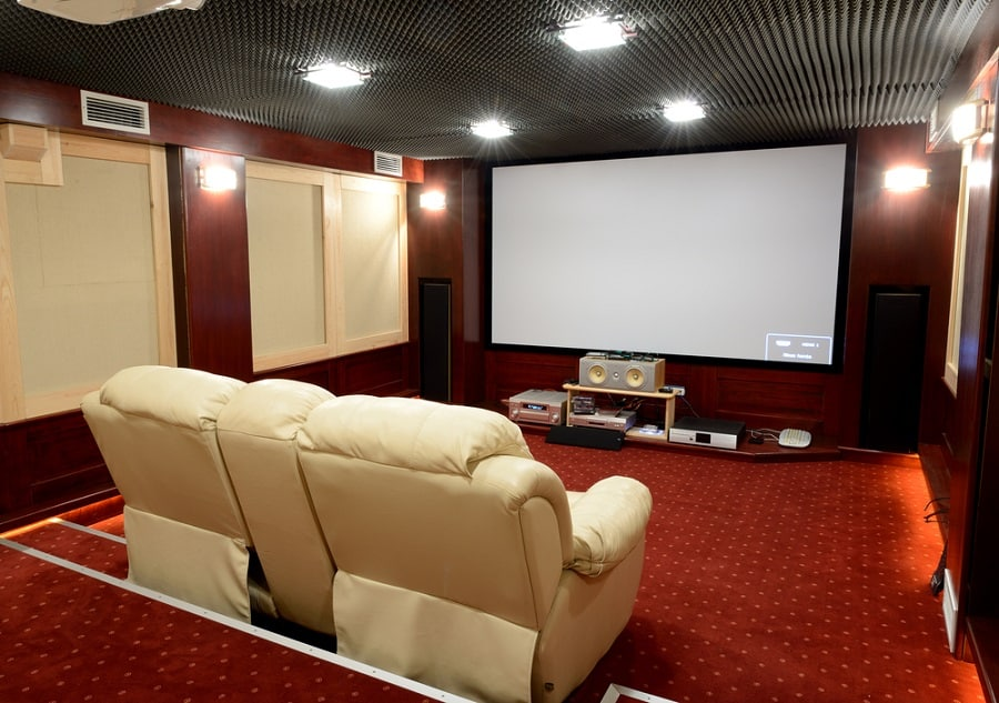 Home Theater Seating Cool Interior Ideas