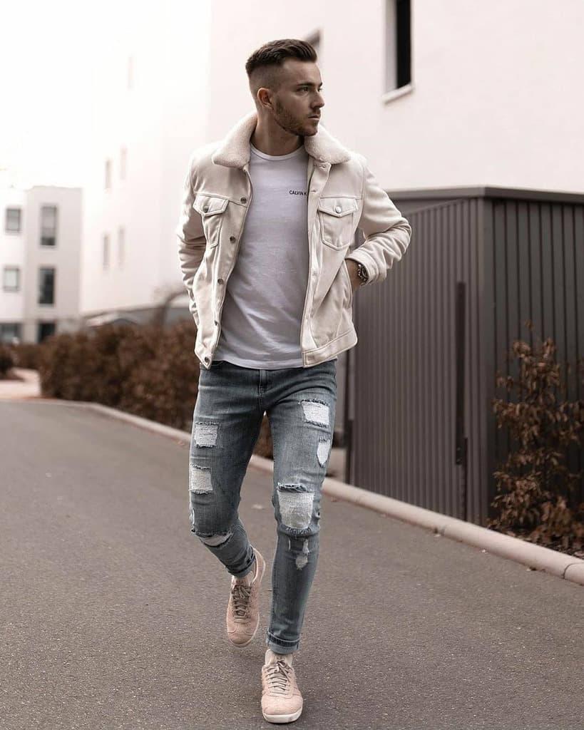 White Shirt Mens Style
