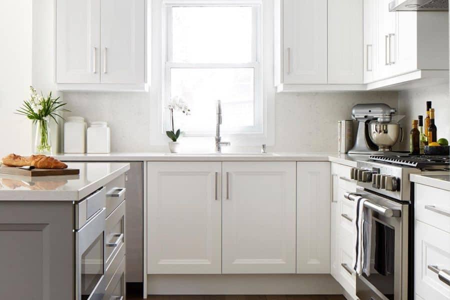 White Small Kitchen Ideas Jackieglassinc