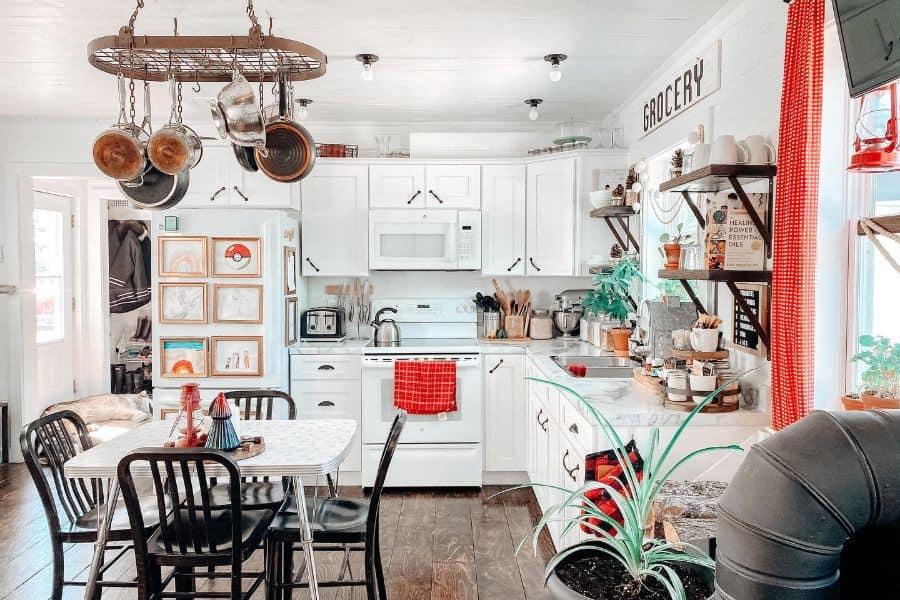 White Small Kitchen Ideas Littlehouseonpurpose