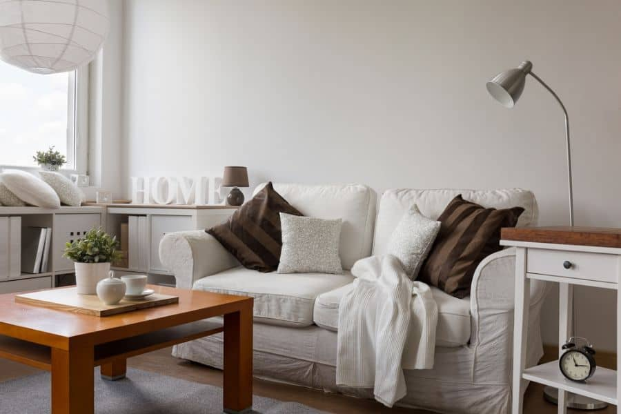 White Small Living Room Ideas 5