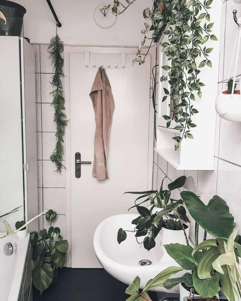 White Tiny Bathroom Ideas Juliezarahk
