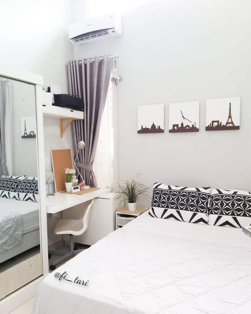 White Tiny Bedroom Ideas Fi Tari