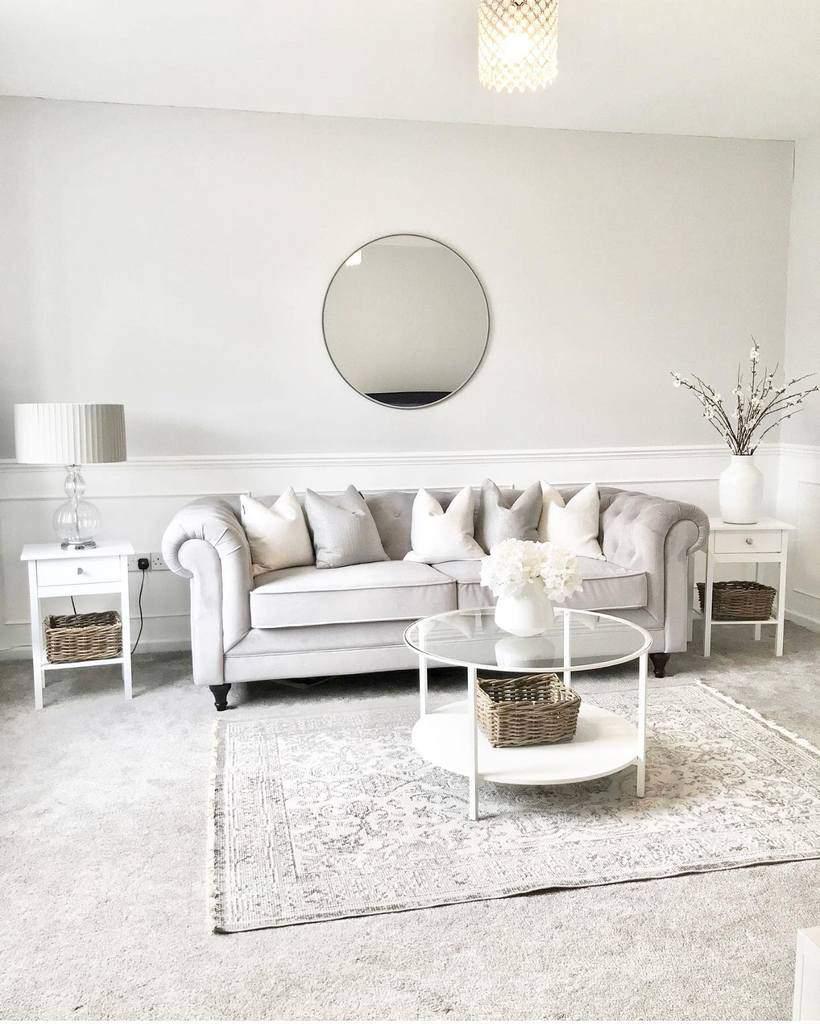 white wall paneling ideas homebyem_