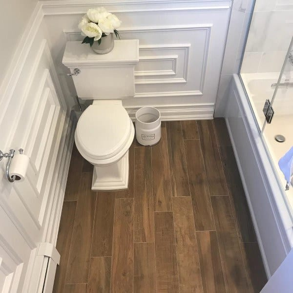 Whtie Wainscoting Bathroom Ideas