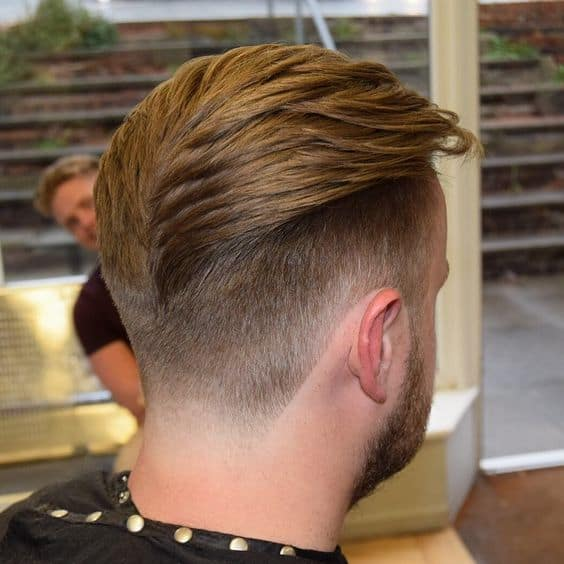 Wide Mohawk Fade Haircut
