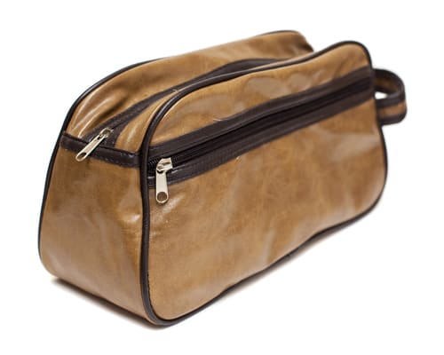 Will Leather Goods Grady Leather Dopp Kit For Men