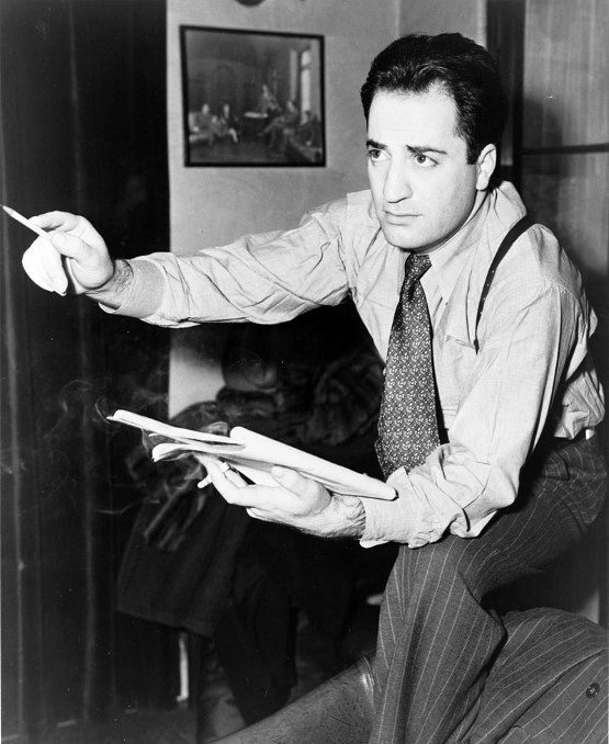 William Saroyan With Popular 1940s Time Period Guys Haircut