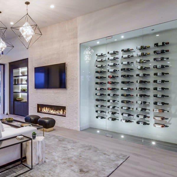 Wine Cellar Wall Ideas With Modern Design