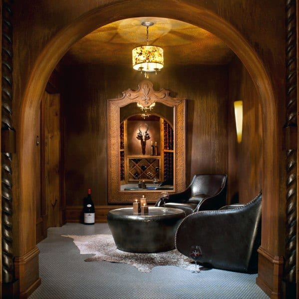 Weinzimmer Design Cool Man Cave Ideas