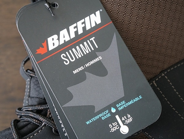 Winter Boots For Men Baffin Summit Collection