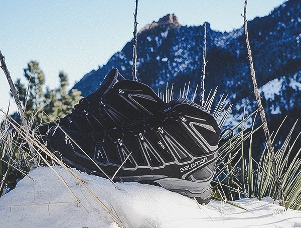 Winter Mens Salomon Hiking Boots Review X Ultra Mid 2 Spikes Gore Tex