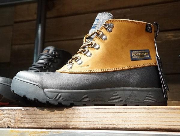 Winter Pendelton Mens Rubber Bottom Boots