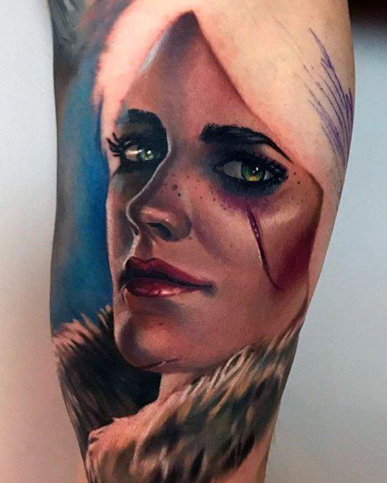 Witcher Guys Tattoos