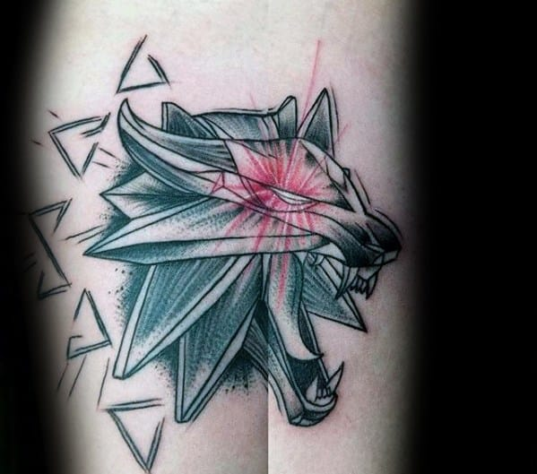 Witcher Tattoo Design Ideas For Males