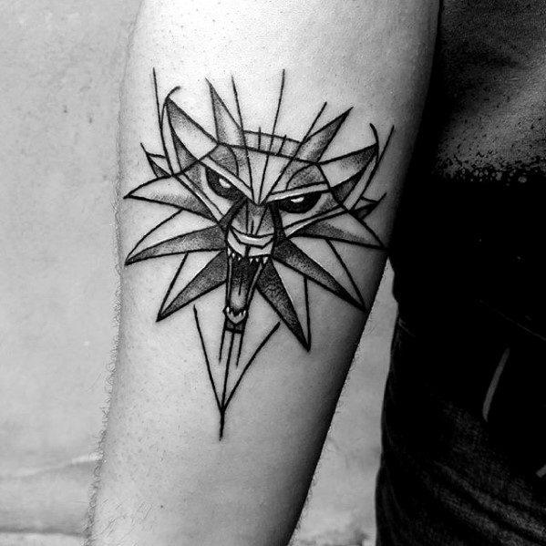 Witcher Tattoos For Gentlemen