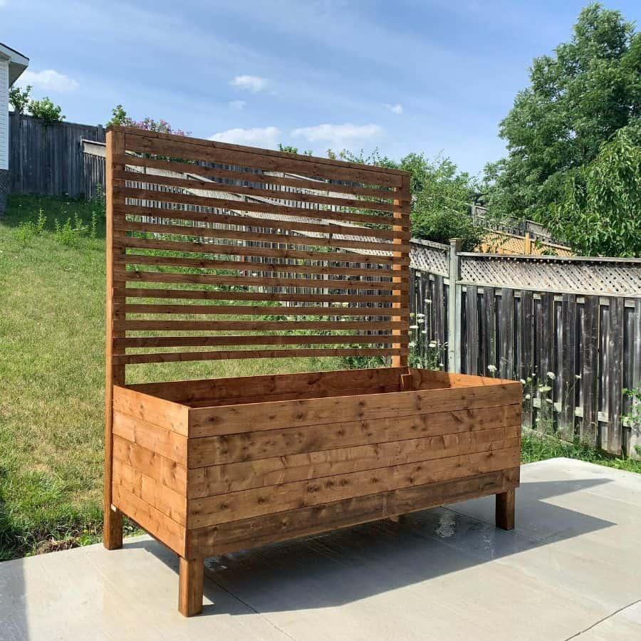 with trellis raised garden bed ideas halladaydesigns