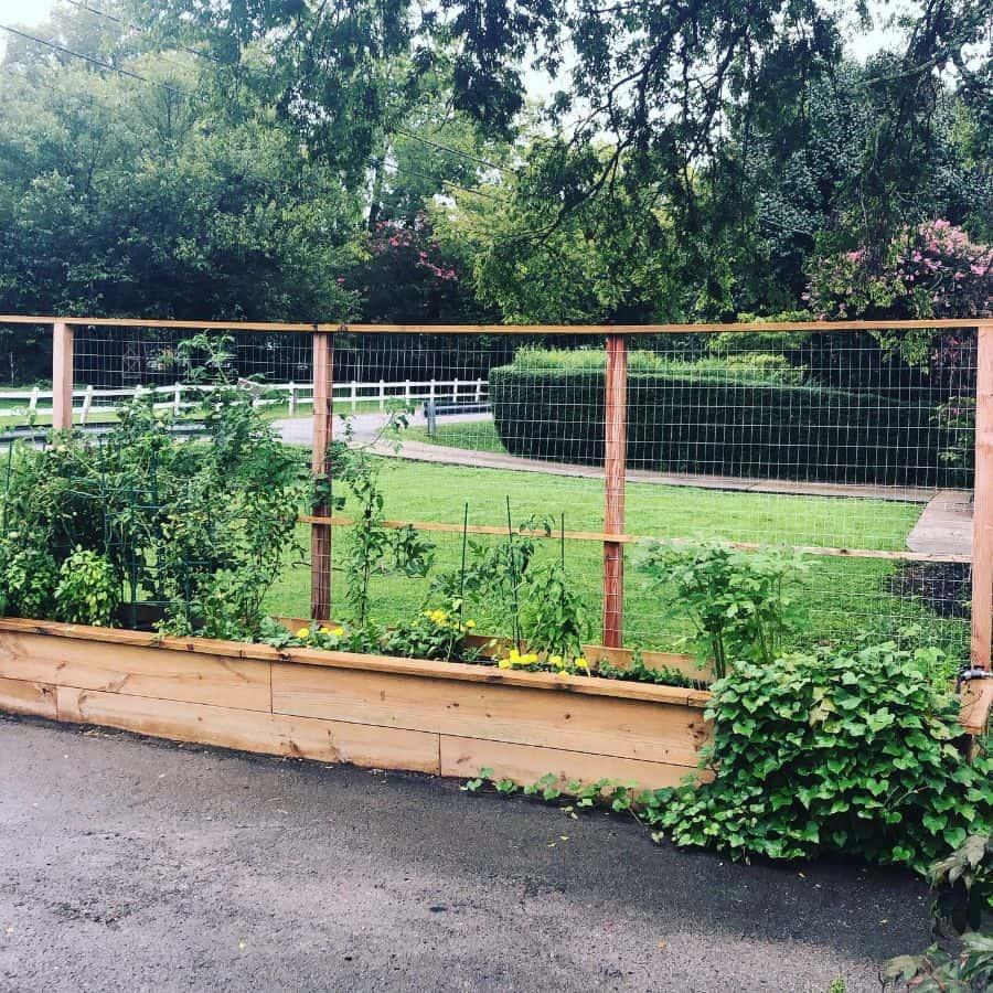 with trellis raised garden bed ideas thecottonbungalow