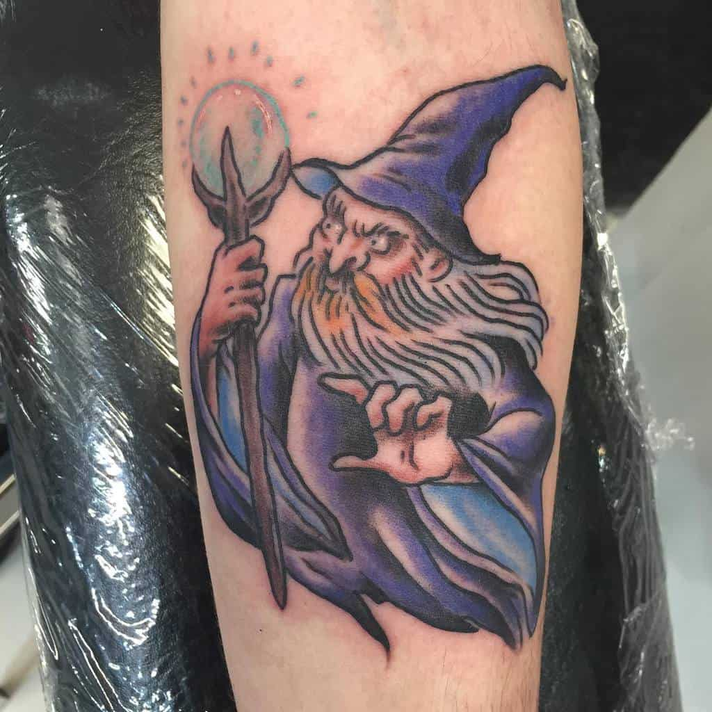 Wizard Dungeons And Dragons Tattoos Monique Ligons